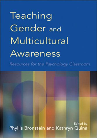 Teaching Gender and Multicultural Awareness: Resources for the Psychology Classroom 9781557989918