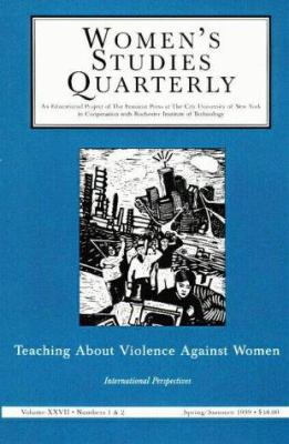 Teaching about Violence Against Women: International Perspecitve: 1 & 2 9781558612112