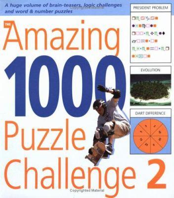 The Amazing 1000 Puzzle Challenge 2 9781554071180