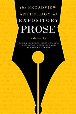 The Broadview Anthology of Expository Prose, Second Edition 9781554810376