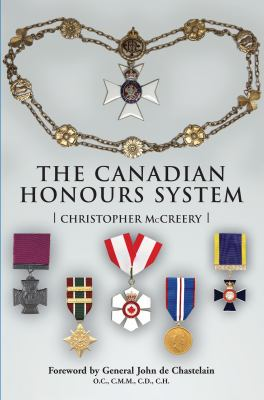 The Canadian Honours System 9781550025545