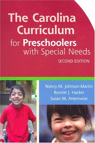 The Carolina Curriculum for Preschoolers with Special Needs 9781557666543