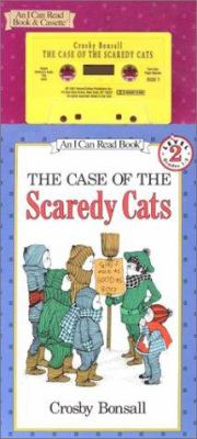 The Case of the Scaredy Cats Book and Tape [With Book] 9781559944342