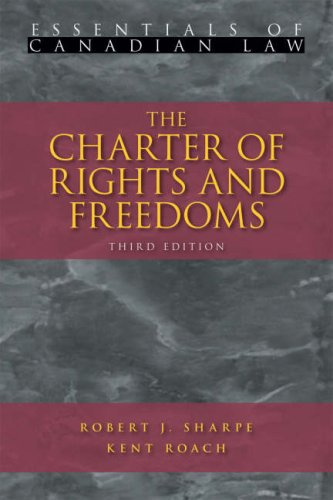 The Charter of Rights and Freedoms 9781552211083