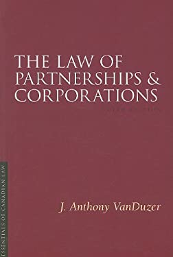 The Law of Partnerships and Corporations 9781552211779