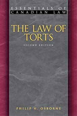 The Law of Torts 9781552210772
