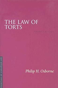 The Law of Torts 9781552211427