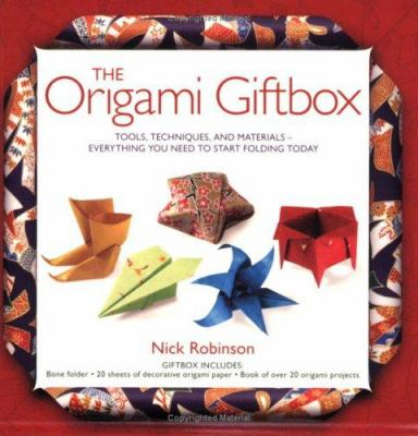The Origami Giftbox: Tools, Techniques, and Materials -- Everything You Need to Start Folding Today [With Bone Folder & Decorative Origami Paper and P 9781554071982