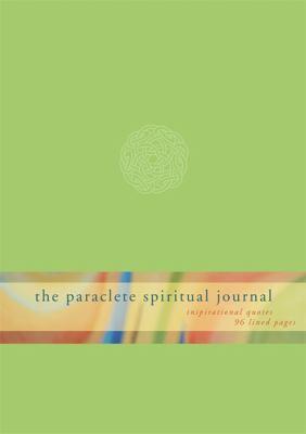 The Paraclete Spiritual Journal-Green 9781557257819