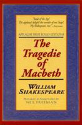The Tragedie of Macbeth: Applause First Folio Editions 9781557832900