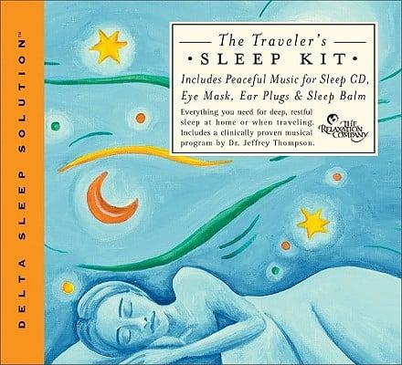 The Traveler's Sleep Kit [With Eye Mask, Ear Plugs, & Sleep Balm]