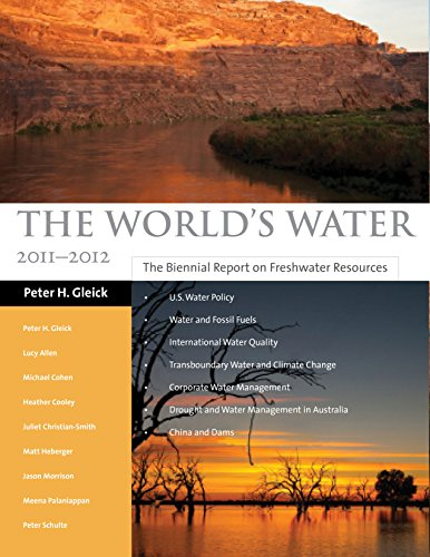 The World's Water 2000-2001: The Biennial Report on Freshwater Resources 9781559637923