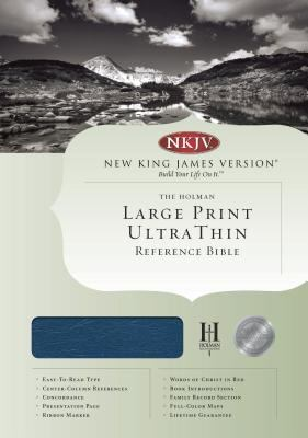 Ultrathin Large Print Reference Bible-NKJV 9781558196469