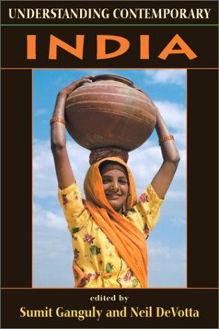 Understanding Contemporary India 9781555879587