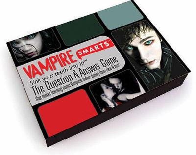 Vampire Smarts Card Game: The Question and Answer Game That Makes Learning about Vampires Before Dating Them Easy and Fun 9781554840984