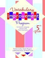 Vocabulary Improvement Program for English Language Learners and Their Classmates, Fifth Grade 9781557666321