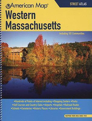 Western Massachusetts Street Atlas 9781557513908