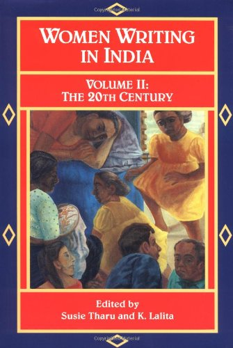 Women Writing in India: 600 B.C. to the Present, V: The Twentieth Century 9781558610293