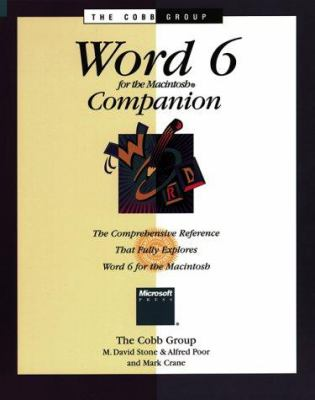 Word 6 for the Macintosh Companion 9781556156441