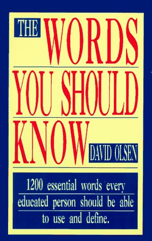 Words You Should Know 9781558500181