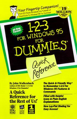 1-2-3 for Windows 95 for Dummies Quick Reference 9781568849867