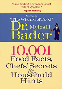 10,001 Food Facts: Chefs Secrets & Household Hints 9781567998658