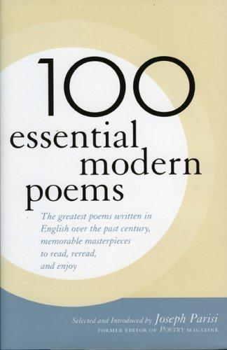100 Essential Modern Poems 9781566636124