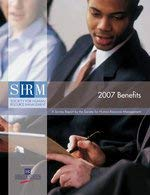 2007 Benefits: A Survey Report by the Society for Human Resource Management 9781566199094