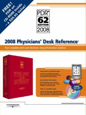 2008 Physicians' Desk Reference (Bookstore Version) 9781563636615