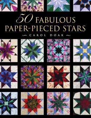 50 Fabulous Paper-Pieced Stars [With CDROM] 9781564772718