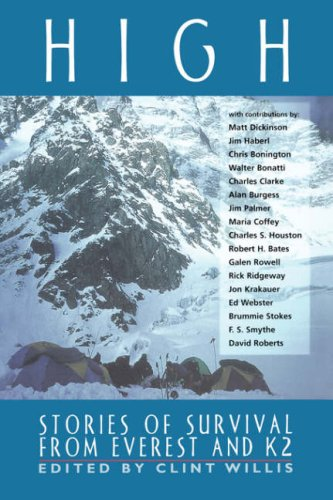 High: Stories of Survival from Everest and K2 9781560252009