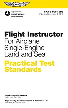Flight Instructor Practical Test Standards for Airplane, Single-Engine Land & Sea