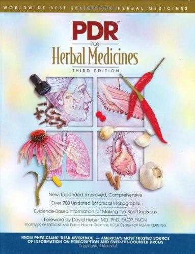 PDR Herbal Remedies 9781563635120