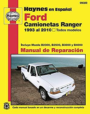 Ford Camionetas Ranger Manual de Reparacion: 1993 Al 2010, Todos Modelos 9781563929199