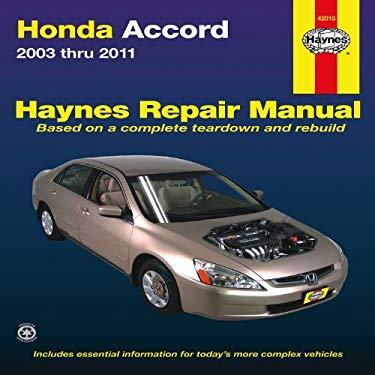 Haynes Honda Accord Automotive Repair Manual 9781563929892