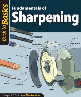 Fundamentals of Sharpening: Straight Talk for Today's Woodworker 9781565234963