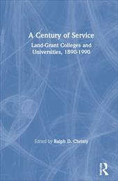ISBN 9781560000020 product image for A Century of Service: Land-Grant Colleges and Universities 1890-1990 | upcitemdb.com