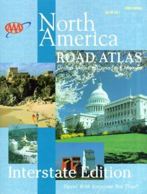 AAA 2000 Interstate Road Atlas: United States, Canada, Mexico 9781562513016