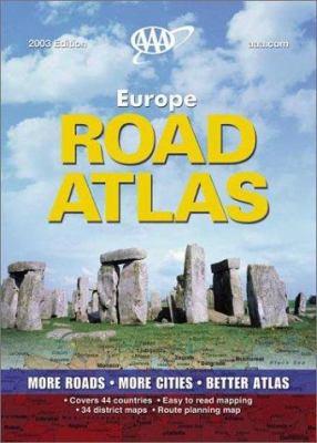 AAA Europe Road Atlas 9781562517939