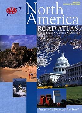 AAA North America Road Atlas Us, Canada, Mexico 9781562512927