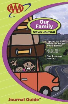 AAA Our Family Travel Journal 9781562518004