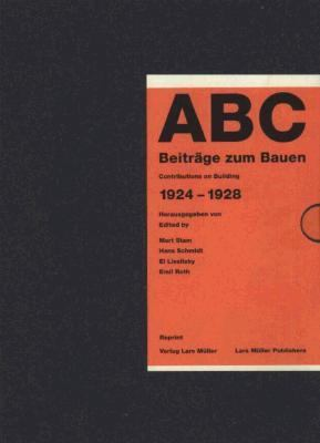 ABC: Contributions on Building 1924-1928 9781568980669