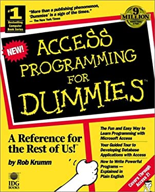 Access Programming for Dummies 9781568840918