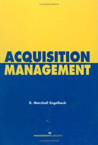 Acquisition Management 9781567261288
