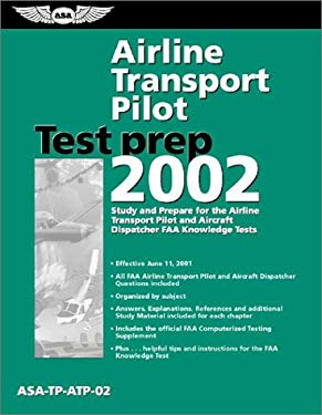 Airline Transport Pilot Test Prep: ASA-TP-ATP-02 [With Computer Testing Supplement for Airline Transport] 9781560274353