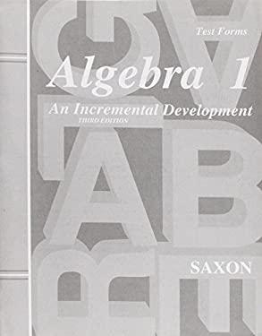 Algebra 1 3e Extra Tests