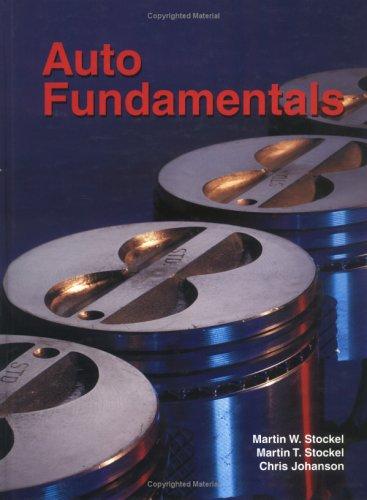 Auto Fundamentals 9781566375771