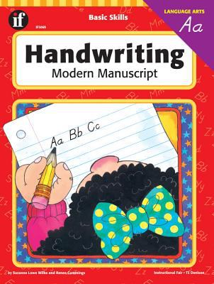 Basic Skills Handwriting, Modern Manuscript 9781568220543