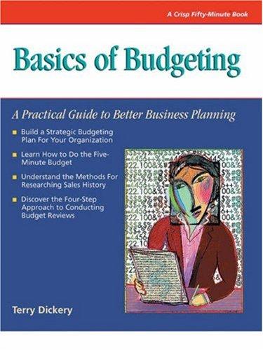 Basics of Budgeting 9781560521341