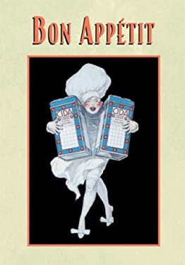 Bon Appetit: 16 Notecards with Envelopes 9781569067789